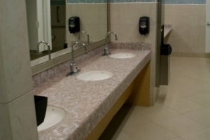 Basin Counter top