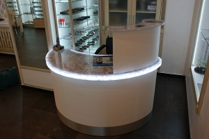 Reception Counter Top Retail