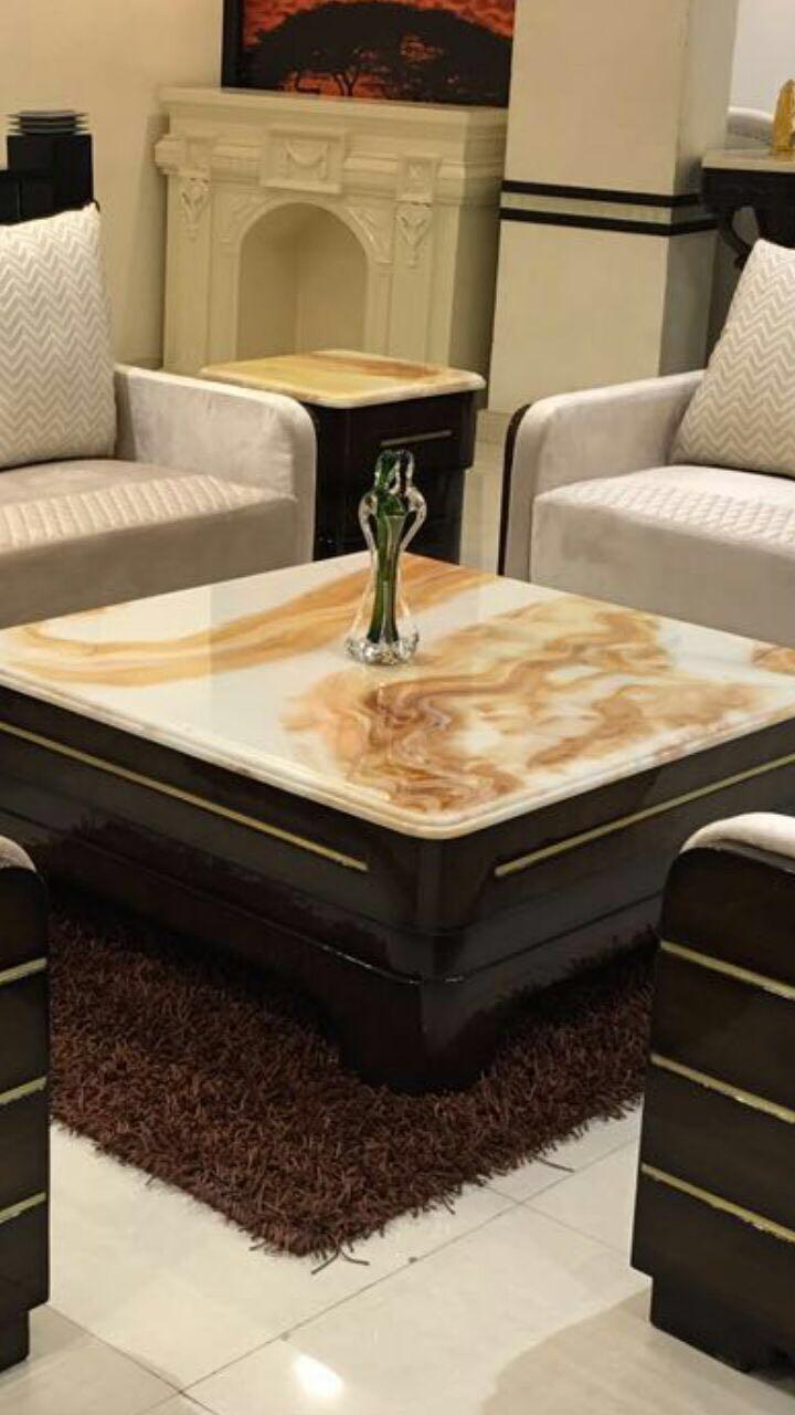 Onyx Center Tables