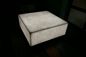 Onyx Center Table with backlit