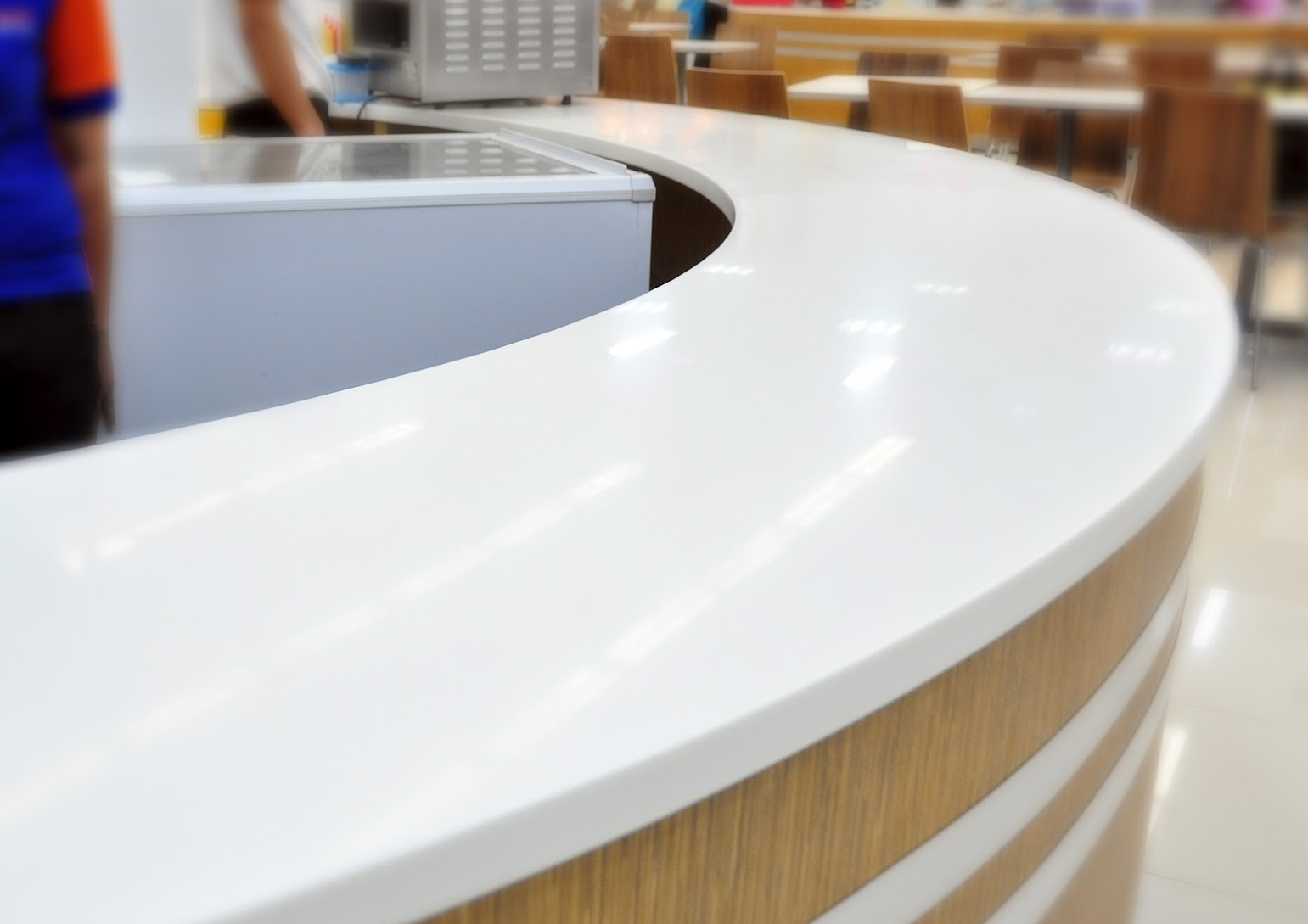 Modified acrylic solid surface marbonex for Solid surface counters