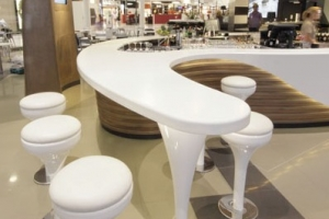 Solid Surface Bar Counters