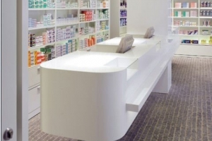 Solid Surface Retail Designs 1