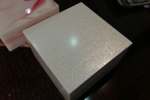Galaxy Stone Wedding Box
