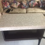 Flora Translucent Stone Dining Table Top for Residential Project
