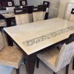 White Onyx Dining Table Top for Residential Project