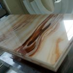 Onyx Center Table Top For Commercial Project