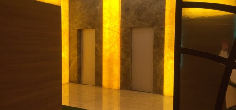 Artificial Alabaster Stone – Ajnara Group, Noida