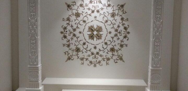 Mandir in Marbonex Acrylic Solid Surface – Delhi