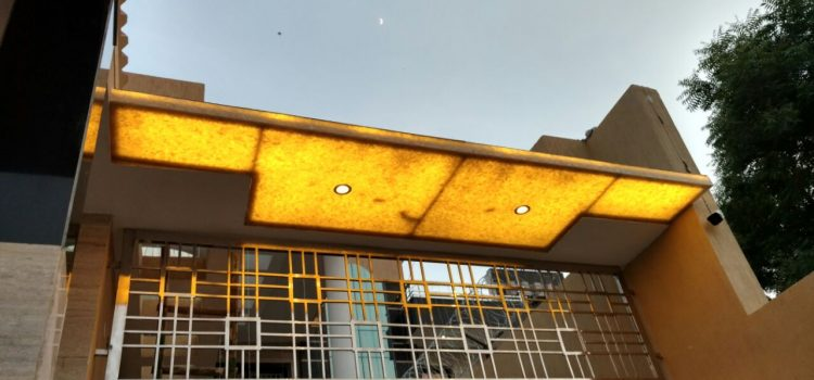 Flora Translucent Stone for Residential Villa, Delhi